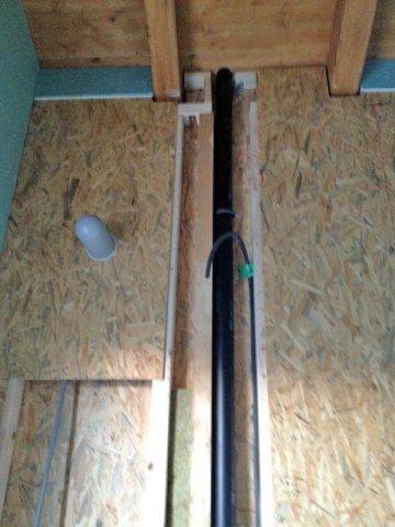 I nostri lavori - Installazione tubazioni bagno in casa di legno ...
